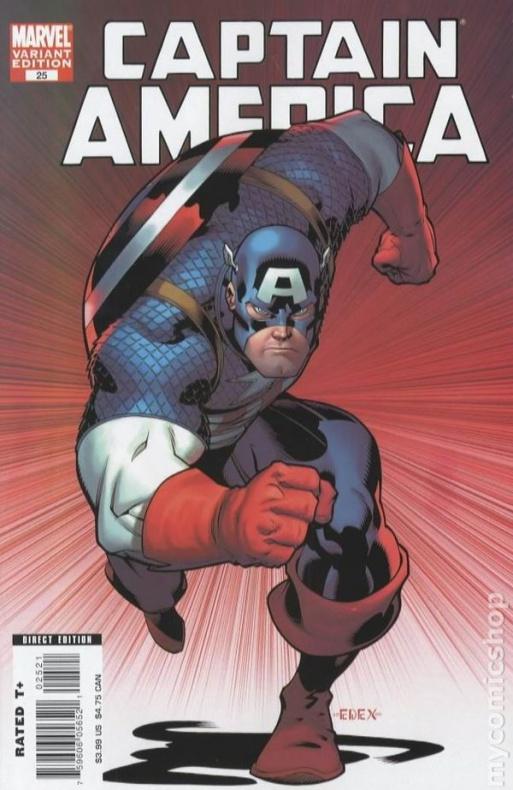 39. CAPTAIN AMERICA (2004) #25