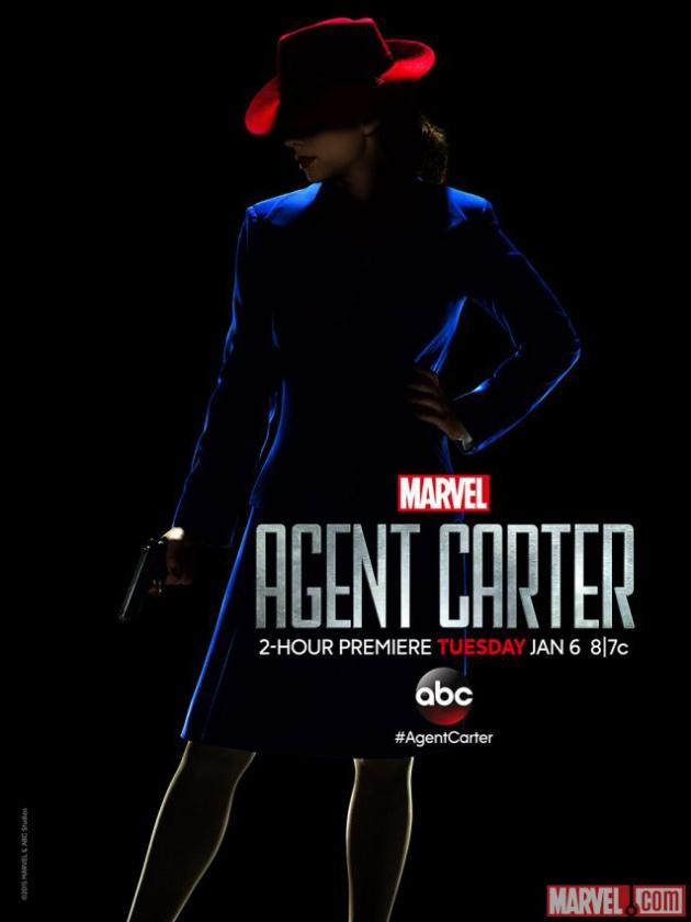 Agente Carter póster premiere