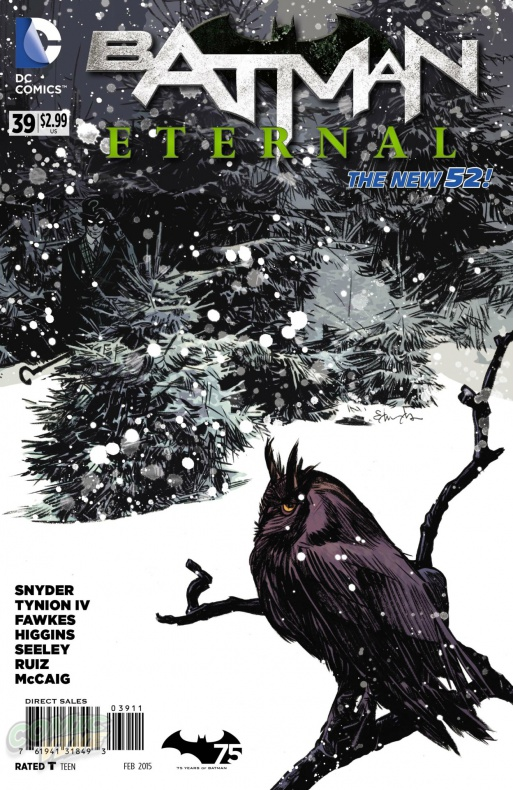 Batman Eternal portada
