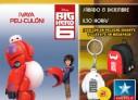 Ganadores de las dos entradas cuádruples para el preestreno de 'Big Hero 6′