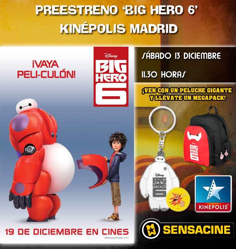 Big Hero 6 sorteo