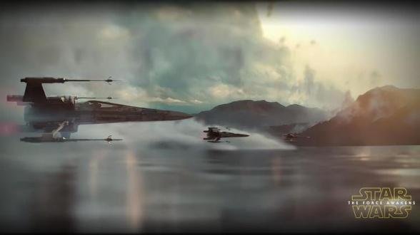 Casi no sale el teaser de Star Wars: el despertar de la fuerza