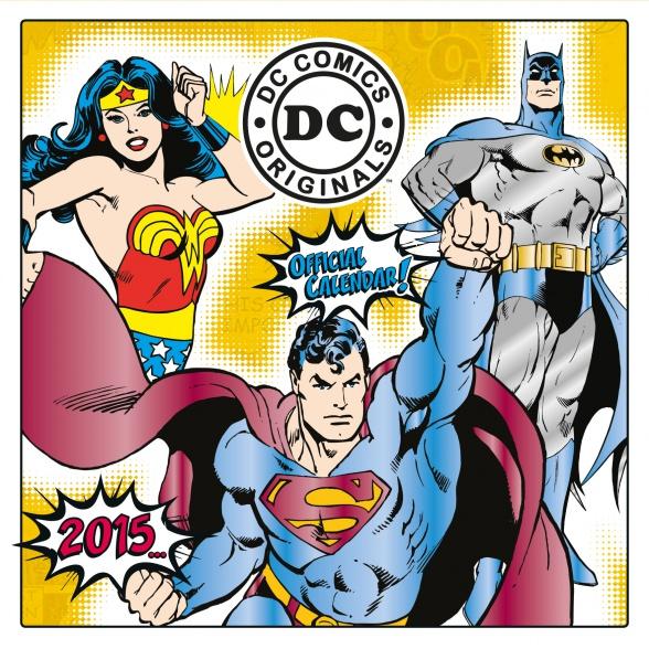 DC Comics Calendario 2015