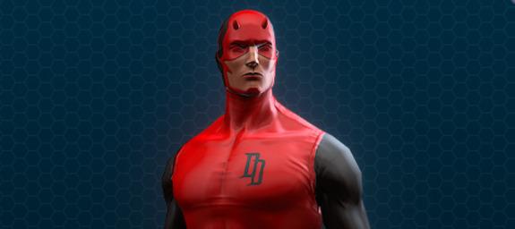 Daredevil black and red costume 01