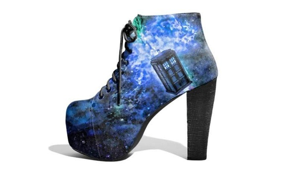 Doctor Who high heels