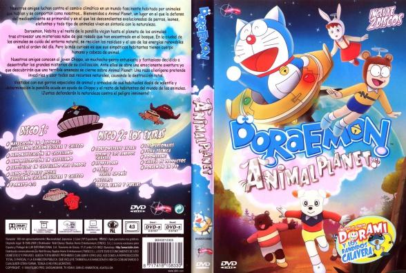 Doraemon Animal Planet Caratula