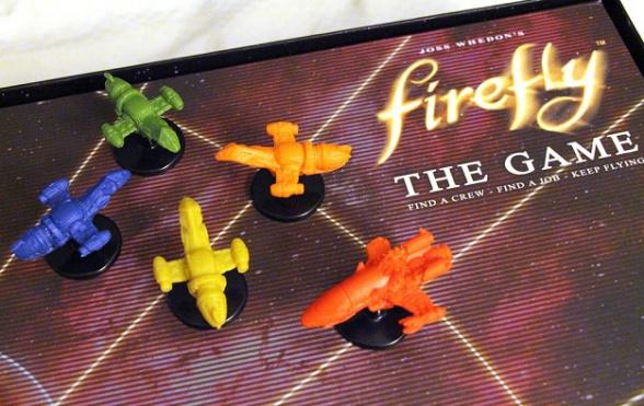 Firefly el juego fichas