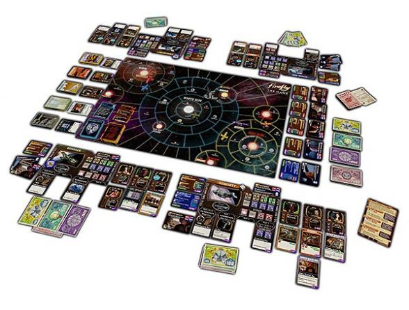 Firefly el juego tablero