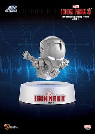 Iron Man figura flotadora
