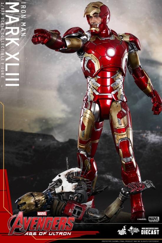 Iron Man  Mark 43 Tony
