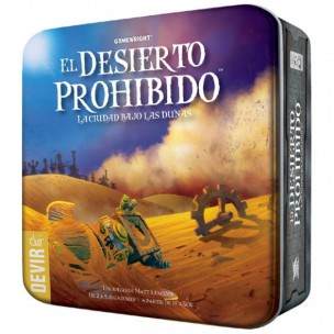 Los mejores juegos de mesa para regalar El desierto prohibido