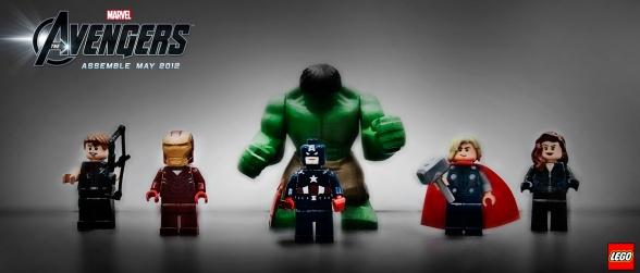 Los vengadores LEGO
