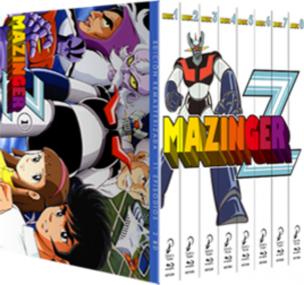Mazinger-Z - Box - serie para regalar
