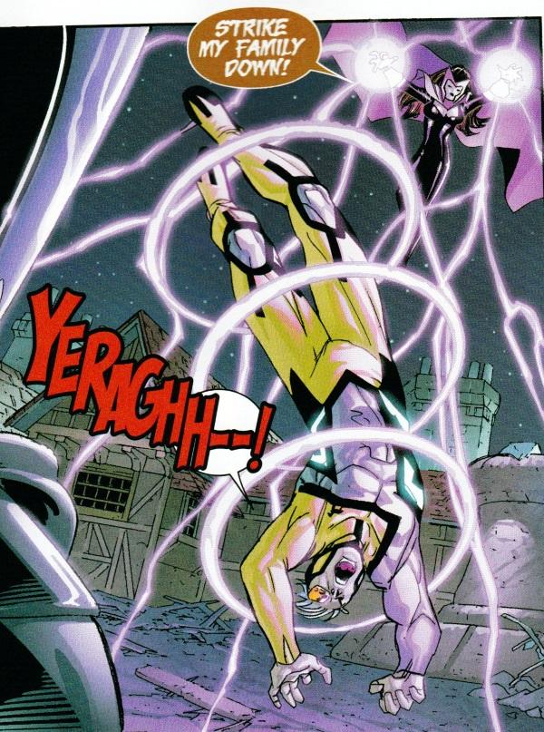 Axis: Mercurio y la bruja escarlata ya no son hijos de Magneto 02