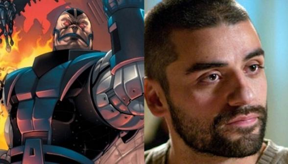Oscar Isaac en X-Men: Apocalipsis