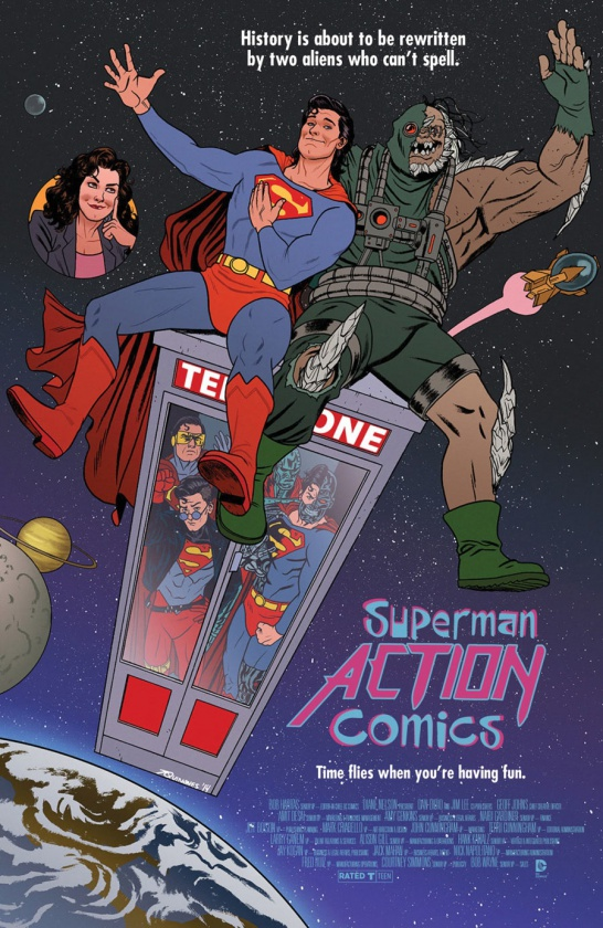 Portada alternativa Action Comics