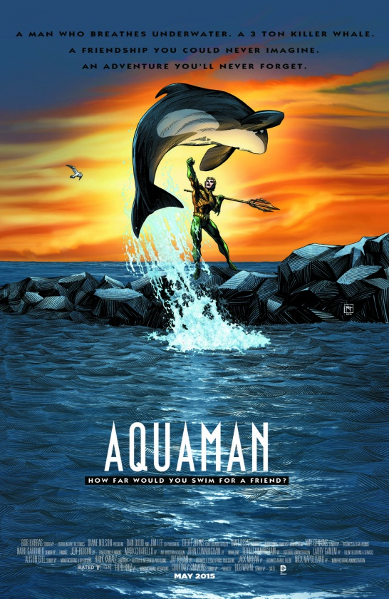 Portada alternativa Aquaman