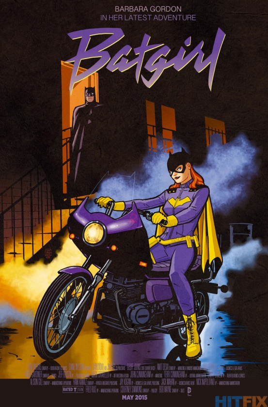 Portada alternativa Batgirl