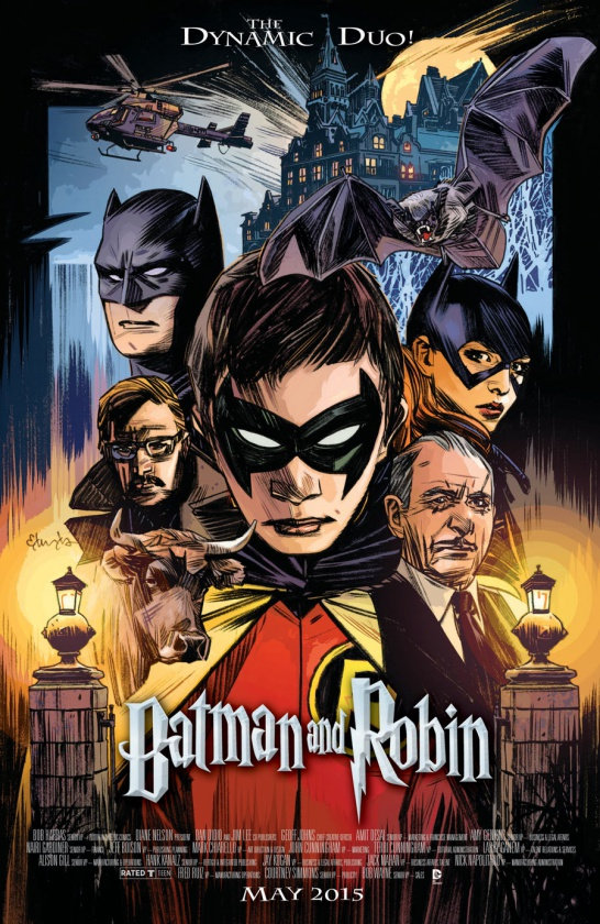 Portada alternativa Batman y Robin