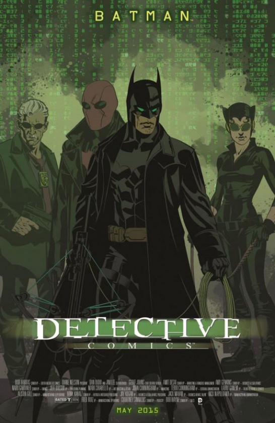 Portada alternativa Detective Comics