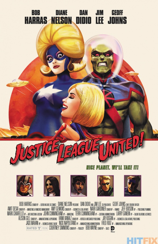 Portada alternativa Justice League United