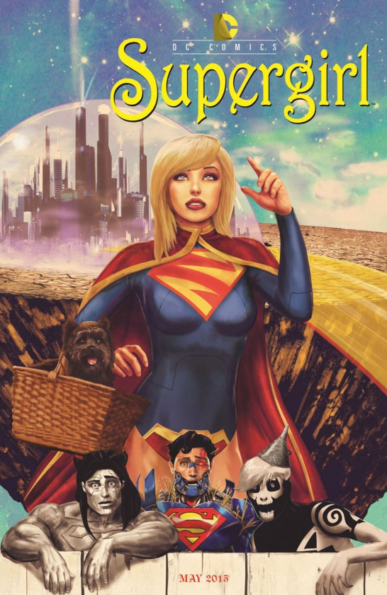 Portada alternativa Supergirl