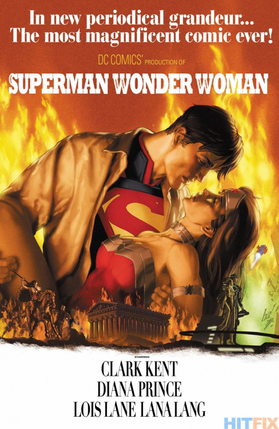 Portada alternativa Superman & Wonder Woman