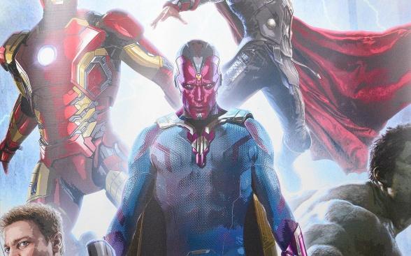 Primer banner Vengadores la era de Ultrón - Visión 01
