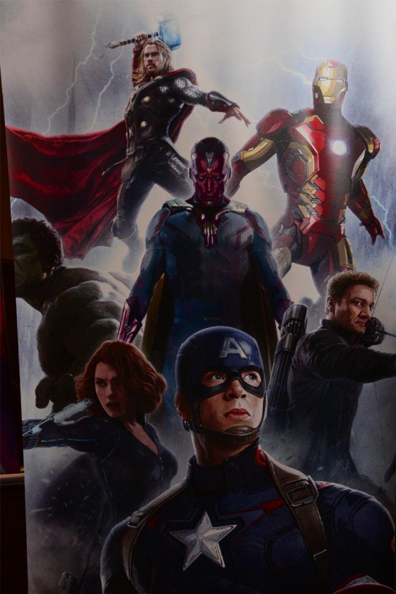Primer banner Vengadores la era de Ultrón - Visión 02