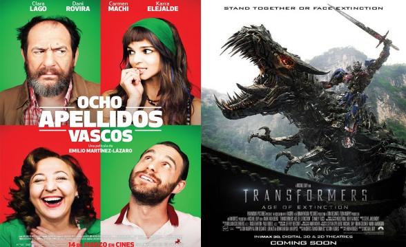 Películas más taquilleras 2014