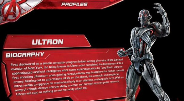 Vengadores la era de Ultrón - Ultrón filtrado 01