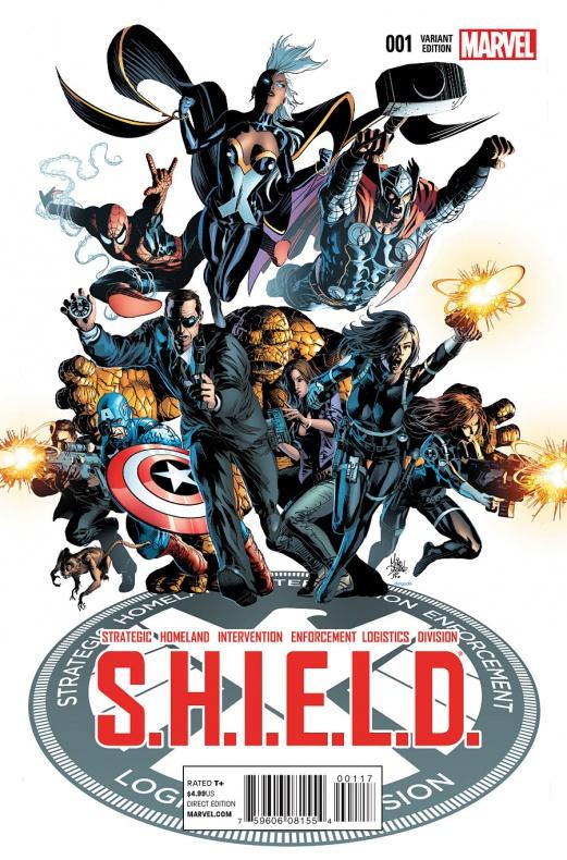 Waid y Pacheco traen Agentes de S.H.I.E.L.D. a la viñeta 02