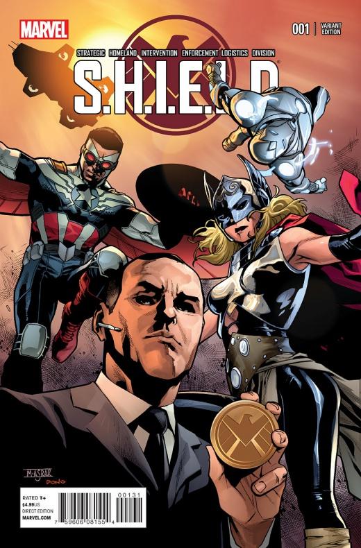 Waid y Pacheco traen Agentes de S.H.I.E.L.D. a la viñeta 05
