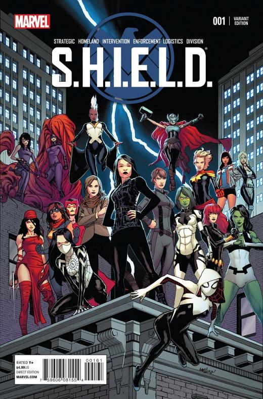 Waid y Pacheco traen Agentes de S.H.I.E.L.D. a la viñeta 08