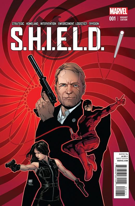 Waid y Pacheco traen Agentes de S.H.I.E.L.D. a la viñeta 09