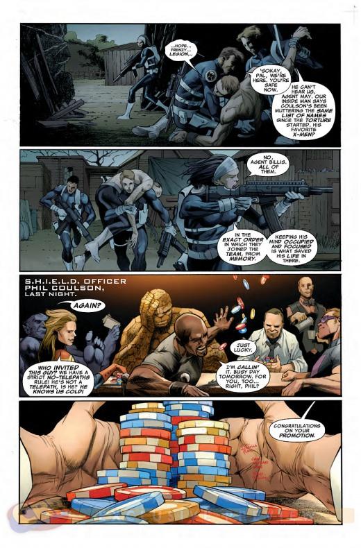 Waid y Pacheco traen Agentes de S.H.I.E.L.D. a la viñeta 13
