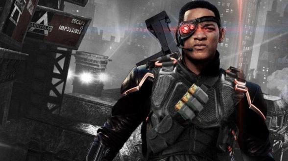 Will Smith as Deadshot - Suicide Squad fan art