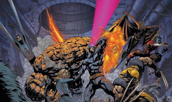 Fox podría cruzar a Los 4 Fantásticos con los X-Men en cines