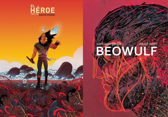 beowulf y el heroe de david rubin