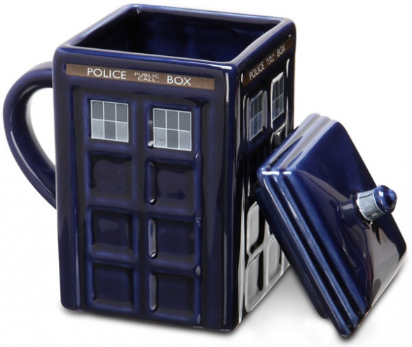 doctor who taza tardis