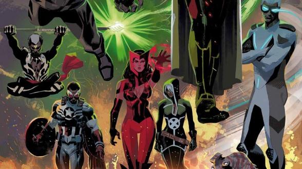 imposibles-vengadores-uncanny-avengers-marvel-now