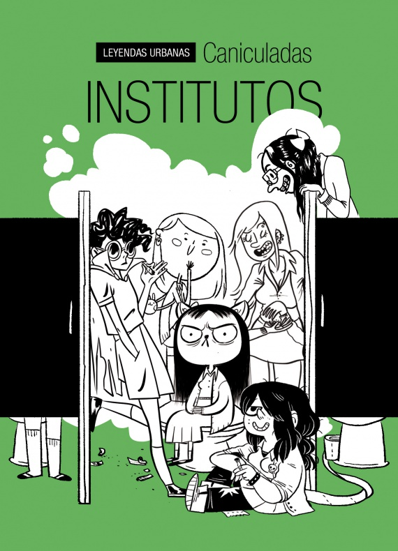 """'Institutos', de la colección """"Leyendas Urbanas"""" de Astiberri, es un divertido cómic de pequeño formato en el que se concentra el talento de Caniculadas"""