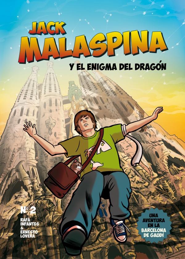 Bookadillo presenta Jack Malaspina y el enigma del dragón de Rafa Infantes y Ernesto Lovera