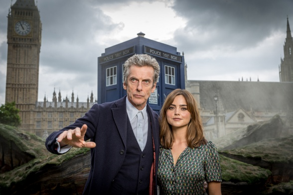jenna coleman peter capaldi doctor who