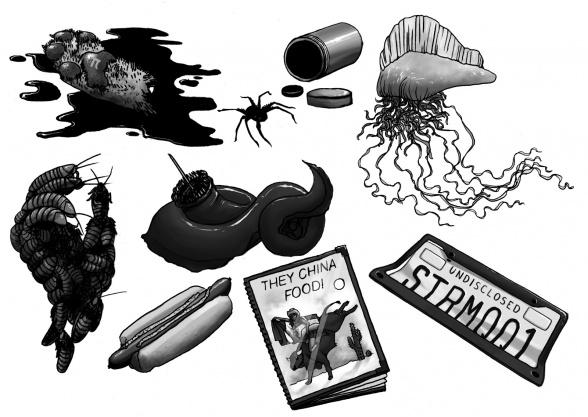 Detalles del interior de la edición de Valdemar