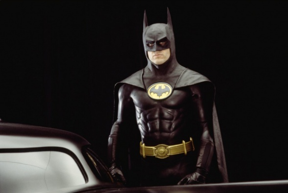 Keaton en Batman