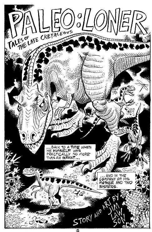 loner jim lawson tyrannosaurus books