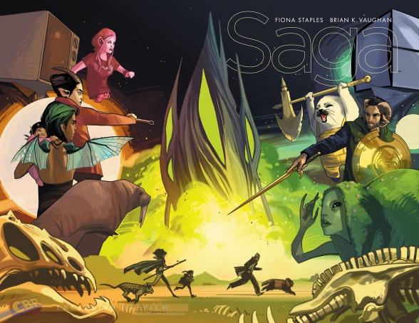 (CBR) Preview del número 25 de Saga