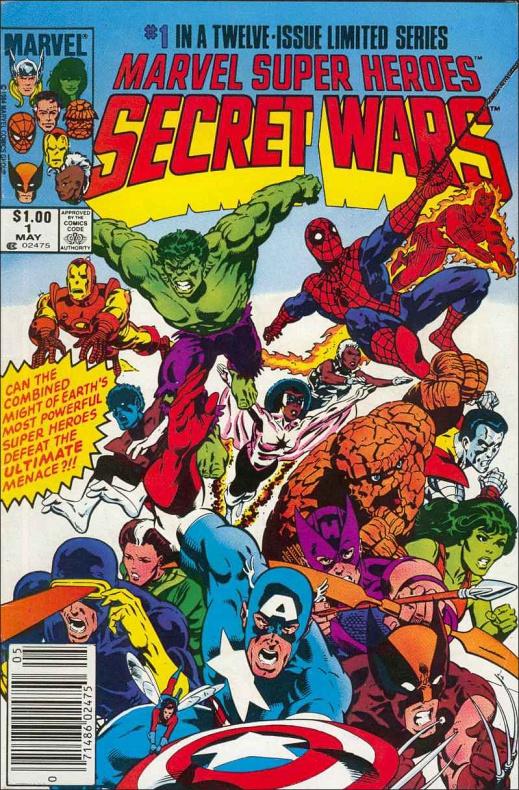 11. SECRET WARS