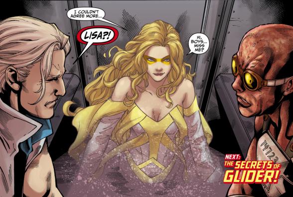 the flash golden glider